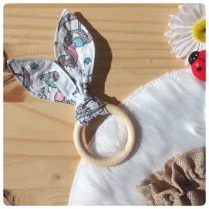 anneau de dentition cheval à bascule
