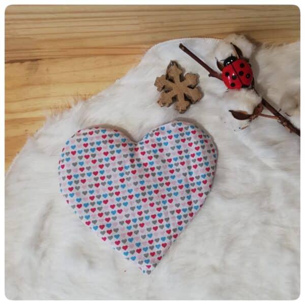 bouillotte sèche coeur